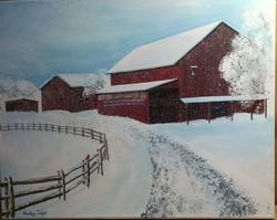 Ohio Barn #2, Sold
