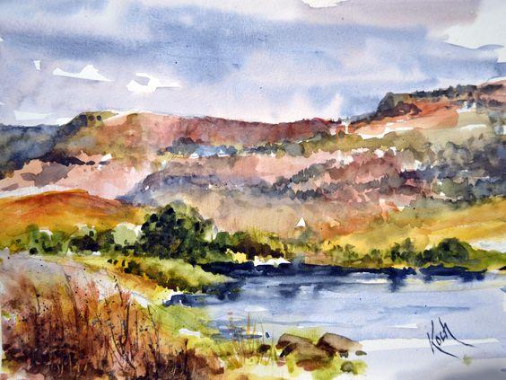 """"""" Colorado River"""" in Grand Junction, Colorado"""