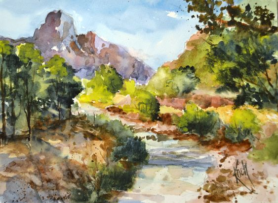 """Bend in the Creek"""