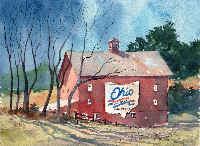 Delaware County Bicentennial Barn