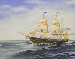 A ship painting