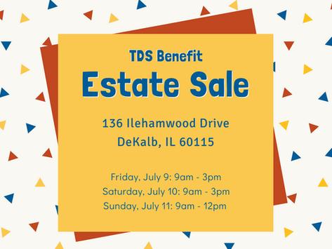 TDS Benefit Estate Sale