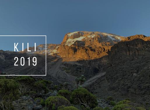 2019 Kili Climb Results