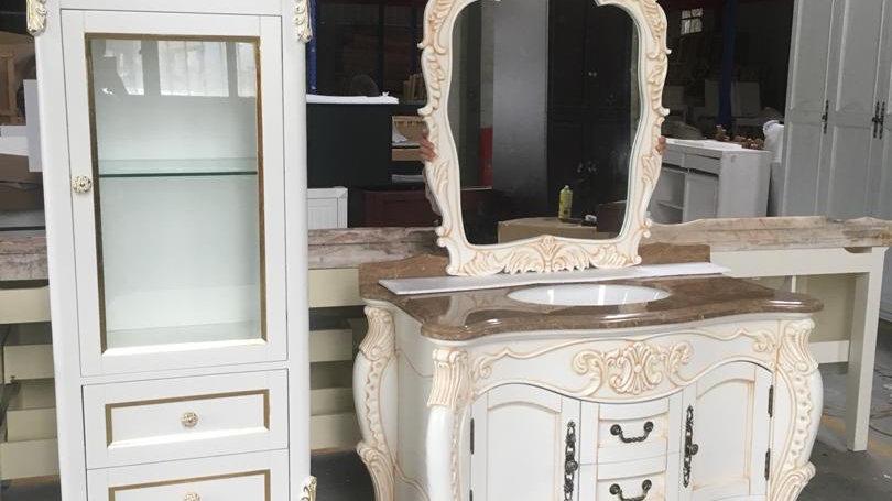 Custom designed vanities