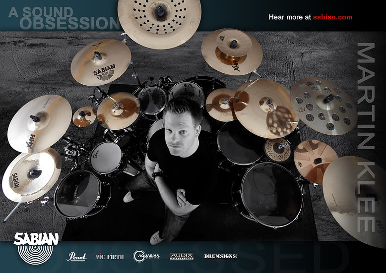"Poster ""SABIAN - a sound obsession"""