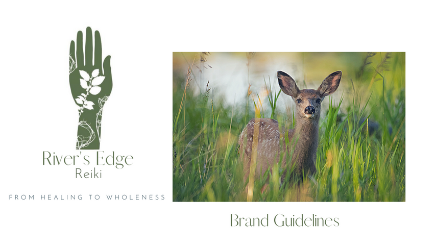 River's Edge Healing Brand Guidelines Book