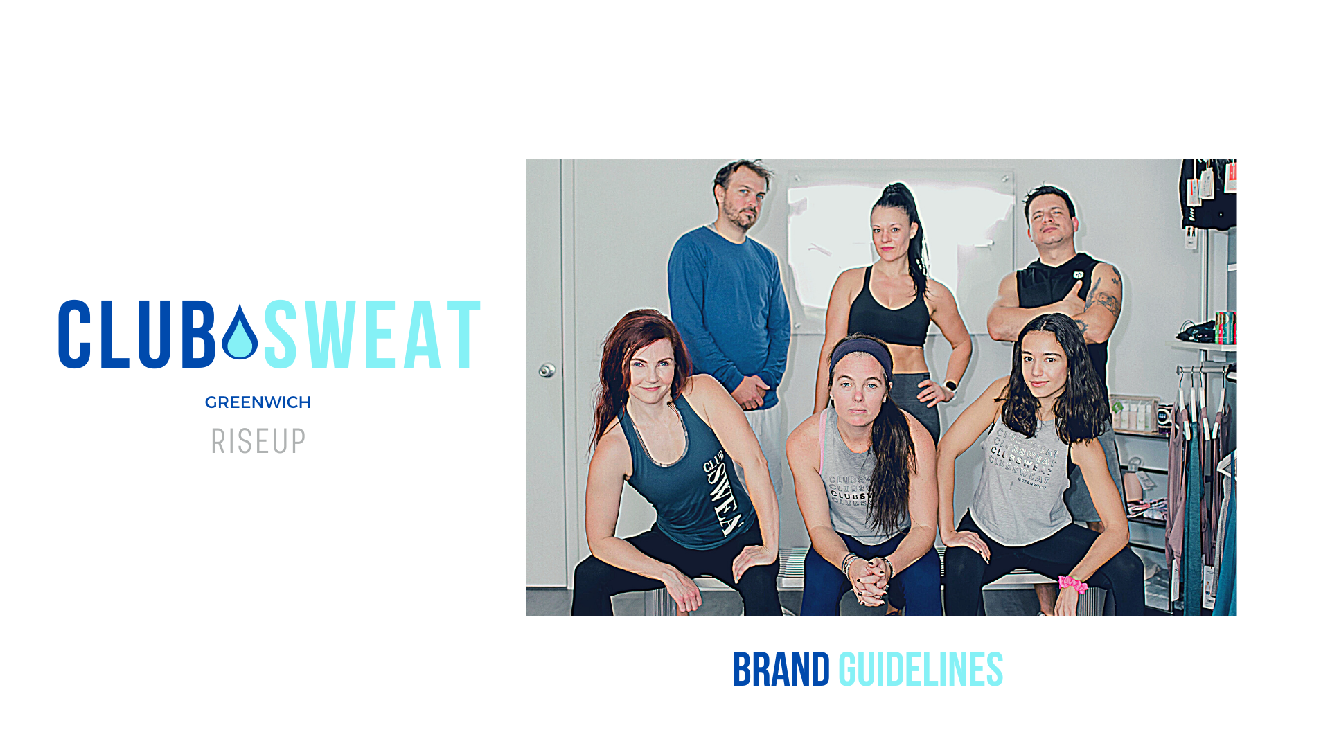 Club Sweat Brand Guidelines Book