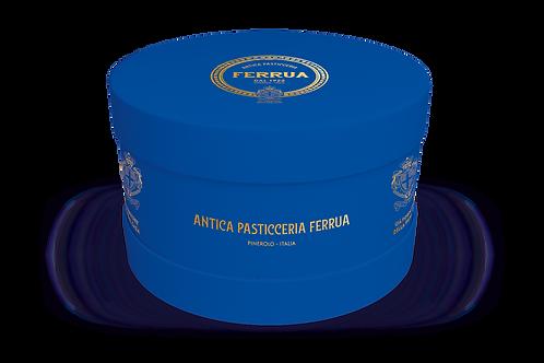 Panettone Antica Pasticceria Ferrua 3000 gr in Cappelliera Storica