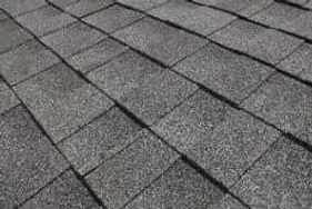 Asphalt tile roofing