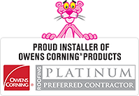 Owens Corning products banner