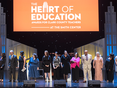 Nominate your child's teacher for  The Heart of Education Awards