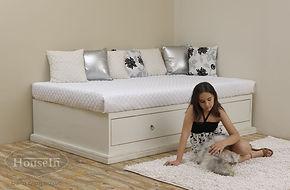 מיטת ילדים ונוער דגם סהר - האוס אין