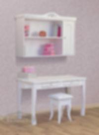 שולחן וכוורת מעץ מלא לחדרי ילדים - דגם סיוון האוס אין