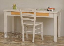 שולחן כתיבה לילדים מעץ מלא דגם זיו האוס יאן