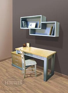 שולחן כתיבה וכוורת דגם גל