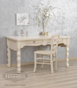 שולחן כתיבה לילדים מעץ מלא