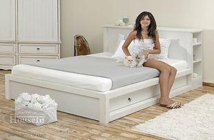 מיטה דגם אלמוג עם ארגז איחסון
