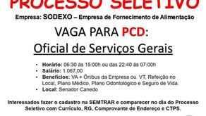 Senador Canedo [Trabalho e Renda]: precisa-se de oficial de serviços gerais.