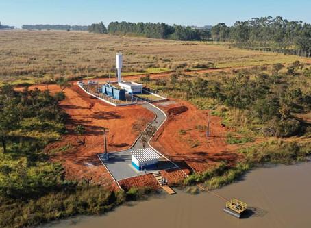 Senador Canedo [Saneamento]: ETA da Emgopa inicia operação aumentando produção de água tratada.
