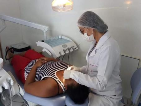 Com medidas sanitárias, durante a Pandemia, serviço odontológico do Município está disponível