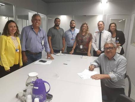 Prefeitura de Senador Canedo avalia andamento de processos/projetos junto à Caixa Econômica Federal.