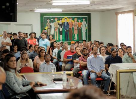 """""""Plano Diretor trará mais desenvolvimento a Senador Canedo"""", afirma dr. Reinaldo Alves"""