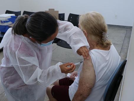 Senador Canedo registra número recorde de vacinados em um só dia