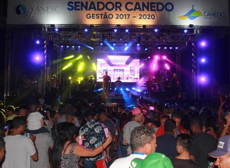 Senador Canedo [Saneamento]: ETA Emgopa é entregue com grande festa