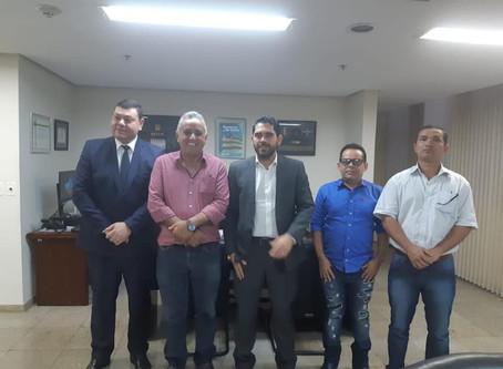 Prefeitura de Senador Canedo discute parcerias com o Governo de Goiás.