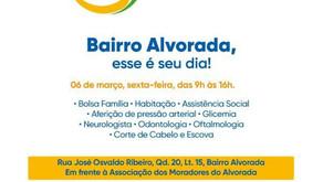 Senador Canedo [Social]: Cidadania nos Bairros na sexta-feira é no Bairro Alvorada. Participem.