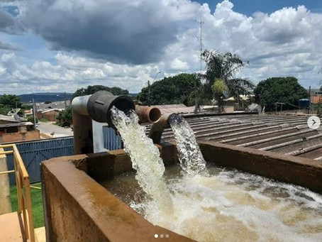 Senador Canedo [Saneamento]: normalizado o abastecimento de água depois do apagão elétrico do natal.