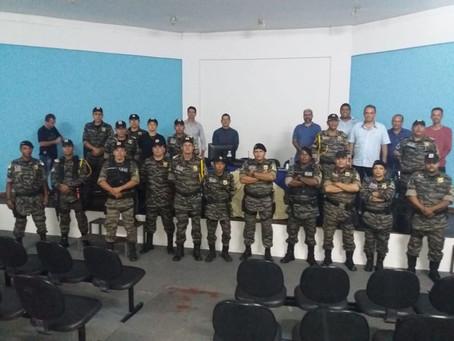 Senador Canedo [Sanesc]: Parceria prevê reflorestamento de nascentes no município.