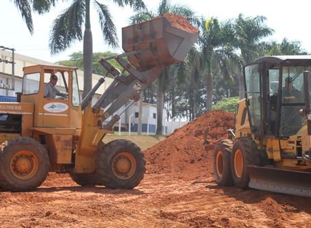 Senador Canedo [infraestrutura]: Novo acesso em obras trará mais segurança.
