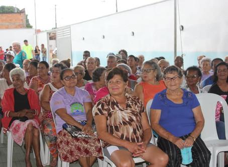 Senador Canedo: Festa e alegria na inauguração do Centro de Convivência do Idoso, no Morada do Morro