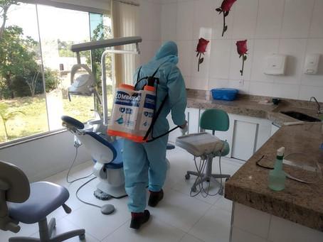 Cinco meses de sanitização no Combate ao Coronavírus