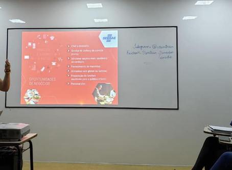 Senador Canedo [Trabalho e renda]: promovendo o empreendedorismo em parceria com o Sebrae.