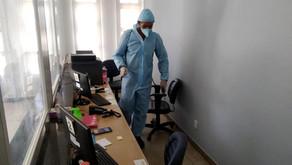 Sanitização é uma das prioridades no combate a Pandemia