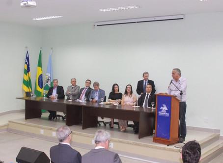 Sede do Cejusc será instalada em Senador Canedo.
