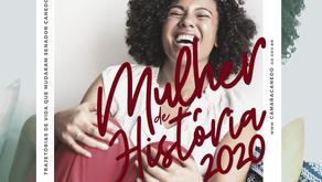 Câmara de Vereadores promove o prêmio Mulher de História 2020.