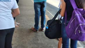 Equipes da saúde trabalham em formato de plantão no Terminal de Senador Canedo