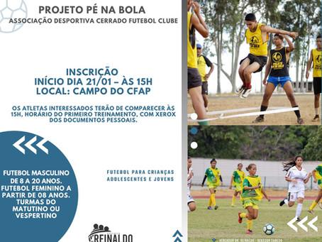 Câmara de Vereadores [Esportes]: Pé na Bola irá realizar inscrições para futebol feminino.