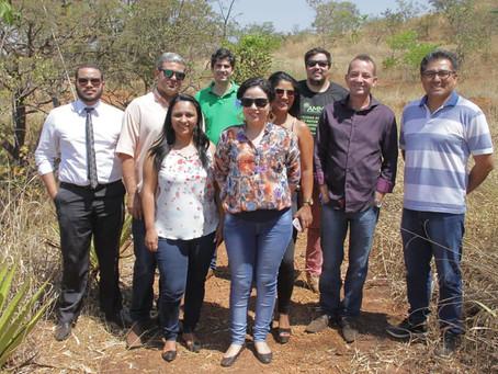 Senador Canedo: Técnicos conhecem iniciativa de produção de água em Rio Verde.