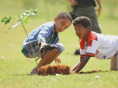 Senador Canedo: Dia da Árvore é comemorado com plantio de mudas e apresentação cultural.