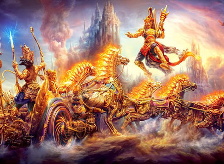 Guerra tecnológica nos céus da Índia há 5.000 anos atrás?