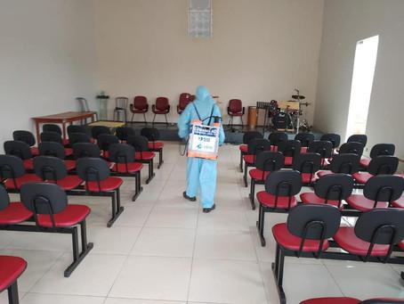 Medidas de sanitização preventiva contra o Coronavírus reforçam a segurança da população canedense