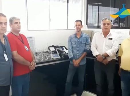 Senador Canedo [Saneamento]: Laboratórios da Sanesc recebem novos equipamentos.