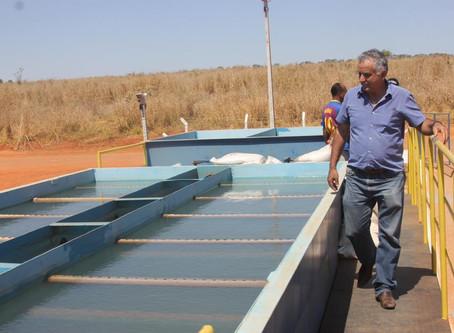 Senador Canedo [Saneamento]: ETA da Emgopa aumenta produção de água tratada.