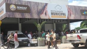 Senador Canedo [Social]: Restaurante Municipal Popular é vistoriado pelo prefeito Divino Lemes.