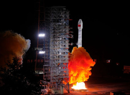 China vai completar o sistema Beidou, concorrente do GPS, com novos lançamentos de satélites.