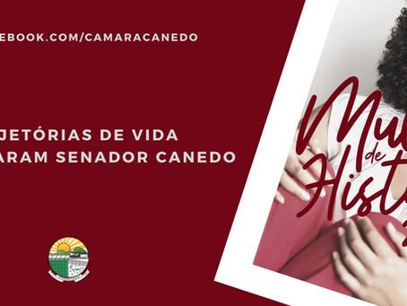 Câmara de Senador Canedo: Mulher de História 2020